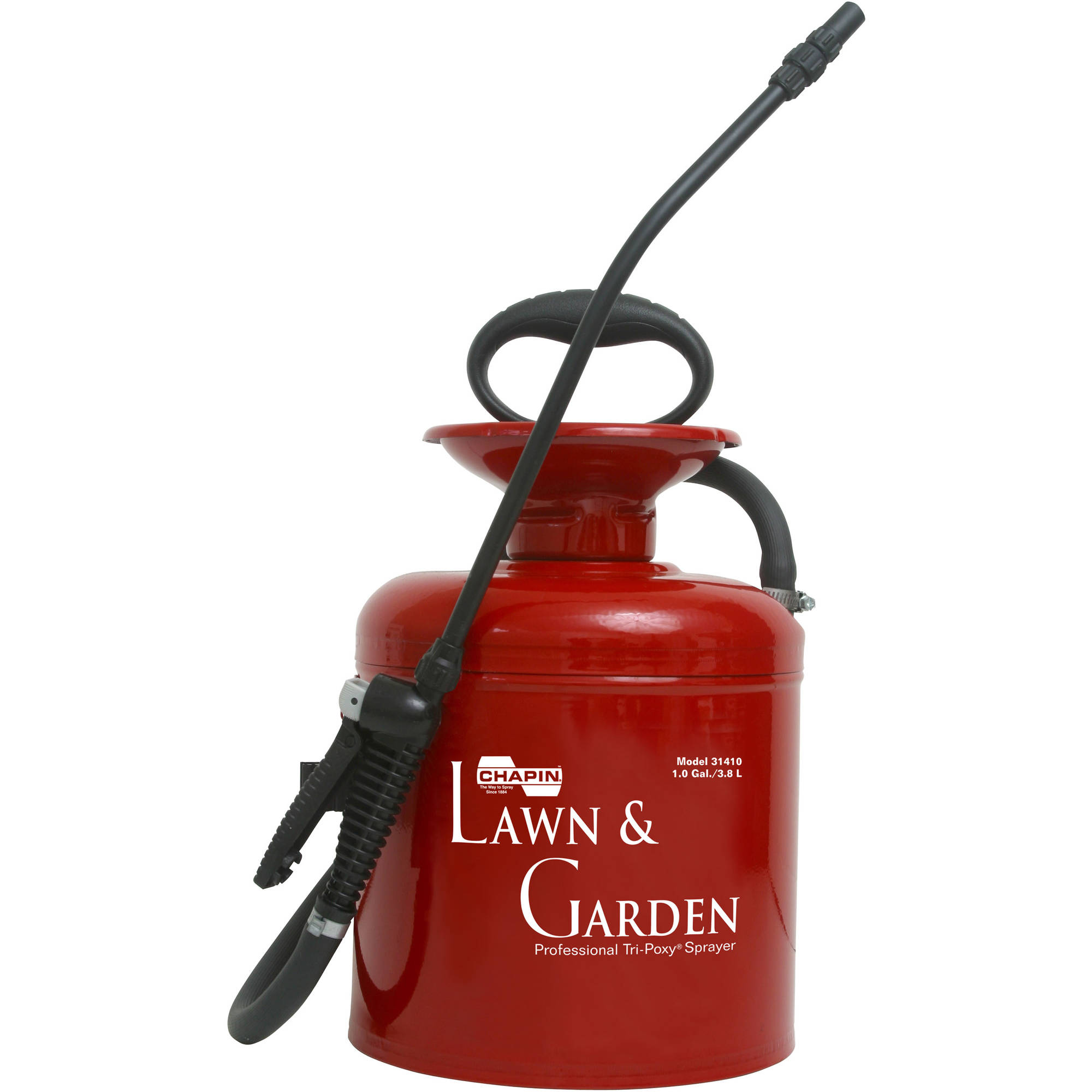 Chapin 31410 1-Gallon Lawn and Garden Series Tri-Poxy Steel Sprayer