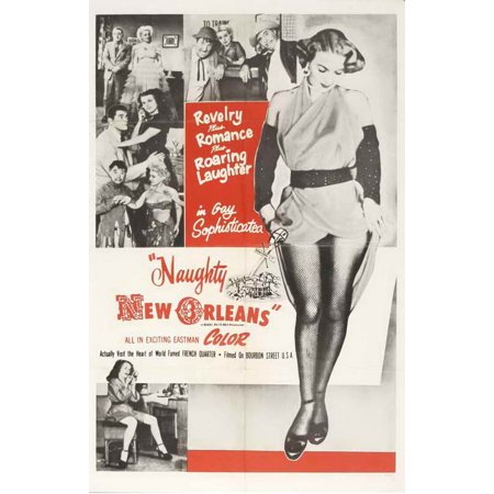 Naughty New Orleans POSTER Movie C Mini Promo