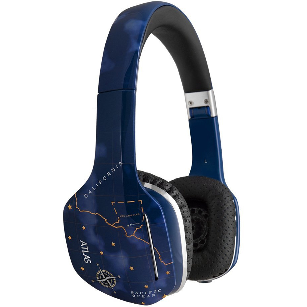 MEE Atlas Sky IML Graphics On-Ear Phones with Headset Functionality