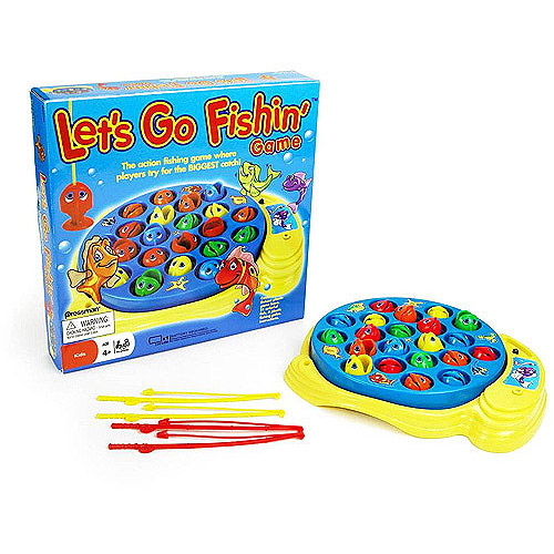 Pressman Let's Go Fishin' Game