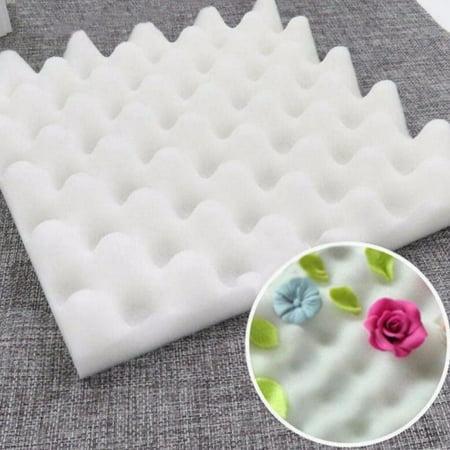 Meigar 2Pcs Sugar Flower Chocolate Gum Paste Drying Foam Mat, Shaping Mold Fondant Cake Airing Sponge Pad Decorating Bakeware Tool - image 2 of 5