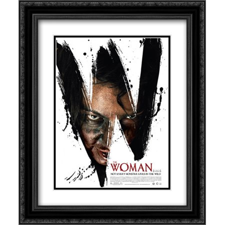 The Woman 20x24 Double Matted Black Ornate Framed Movie Poster Art Print](Halloween Black Light Posters)