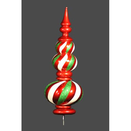 Christmas at Winterland WL-TOPPER-56-RGW 4.5 Foot Finial Tree Topper