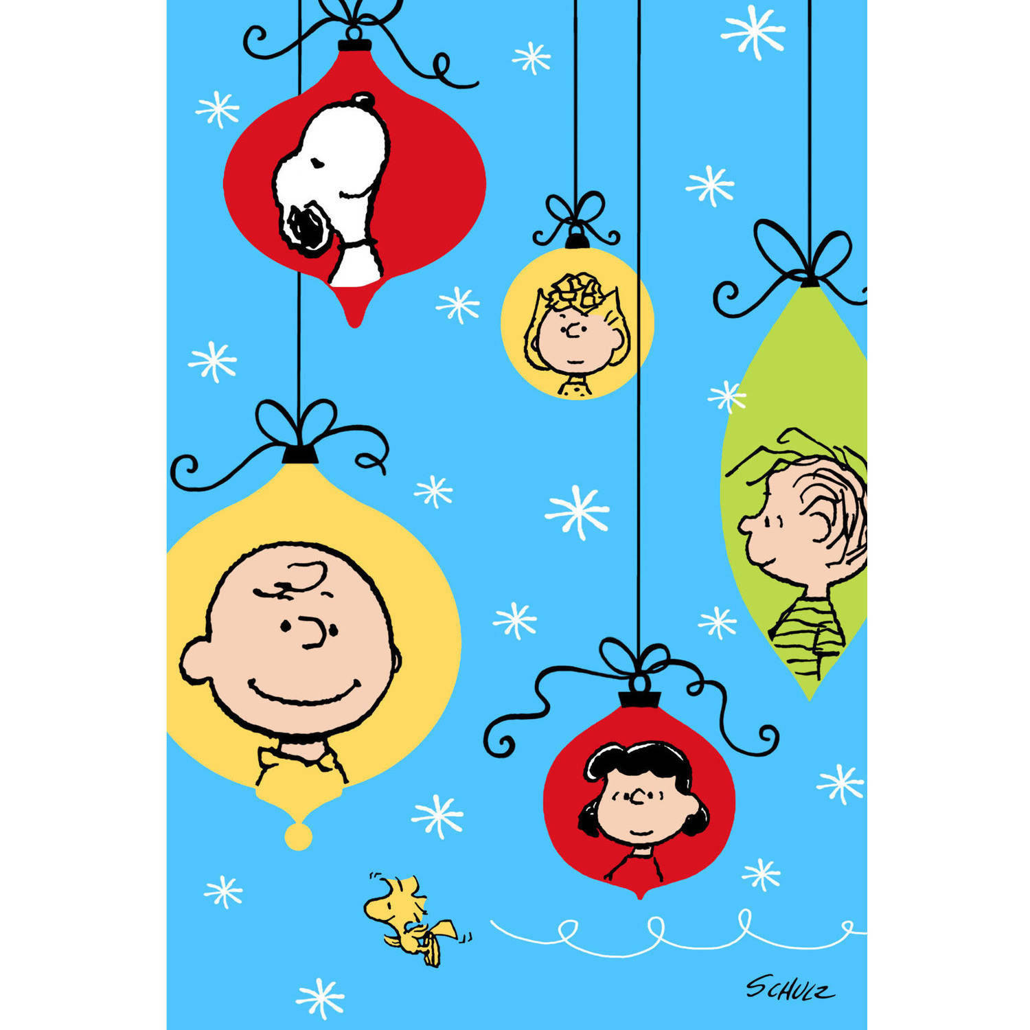 DaySpring Fun Boxed Christmas Cards, Peanuts, 40pk