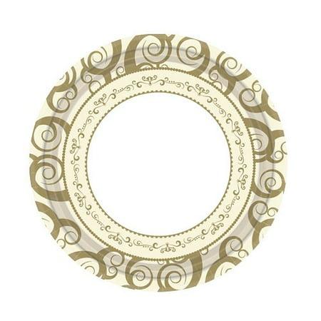 Hanna K Everyday Ensembles Paper Plates, Round, 7