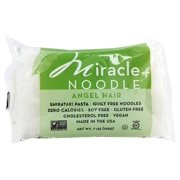 Miracle Noodle - Shirataki Pasta Angel Hair - 7 oz(pack of 2)
