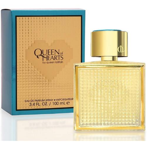 Queen Latifah Queen Of Hearts Eau de Parfum Spray 3.40 oz (Pack of 3)