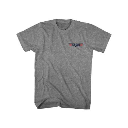 Top Gun Maverick Graphite Heather Adult T-Shirt (Graphite Gun)