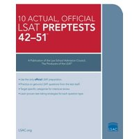 10 Actual 42-51, Official LSAT Preptests : (preptests 42-51)