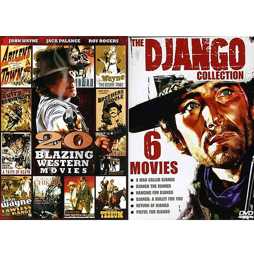 20 Blazing Westerns / The Django Collection