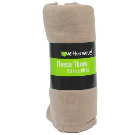 (Imperial Home Premium Super Soft Cozy Fleece Throw Blanket - 50