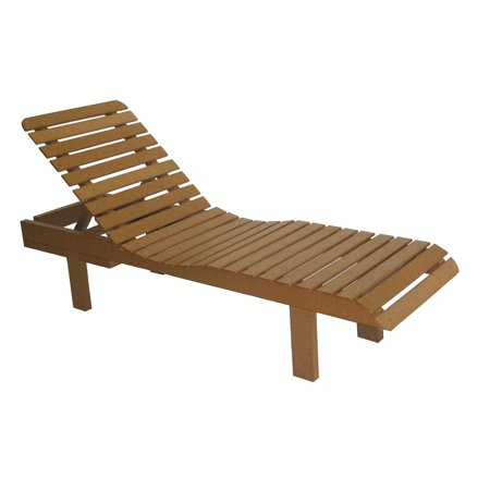 Avalon recycled plastic chaise lounge for Acrylic chaise lounge