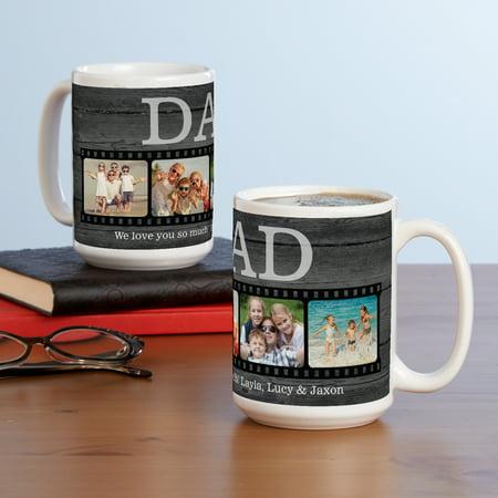 Personalized Photo Memory Reel Mug - Photo Koozie