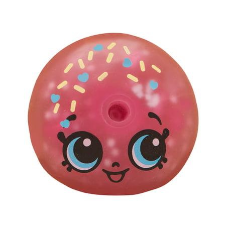 Shopkins Squeezkins, D'Lish Donut Squeeze Toy](Plush Donut)
