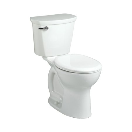 American Standard Flush Right System (American Standard 215BB.104.020 Cadet Pro Right-Height Round Front Two-Piece 1.28 GPF Toilet with 10