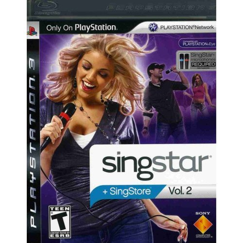 SINGSTAR VOL 2 (SOFTWARE ONLY)-NLA PS3 ACTION