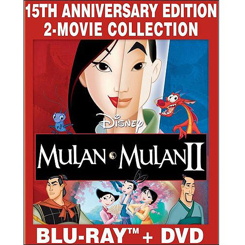 Mulan / Mulan II (Blu-ray + DVD) (Widescreen)