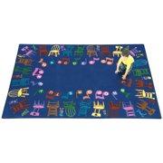 Joy Carpets Musical Chairs Kids Area Rug