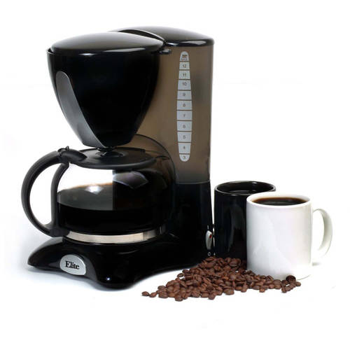 Elite Cuisine EHC-2066X 12-Cup Coffeemaker with Pause and Serve