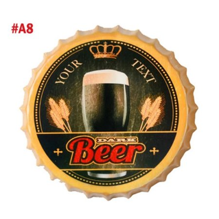 Retro Tin Metal Beer Bottle Caps Sign Poster Plaque Bar Pub Club Wall Home Decoration Tool - Club Decorations