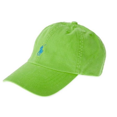 Polo Ralph Lauren Men's Women's Chino Oasis Green Pony Baseball Cap Hat