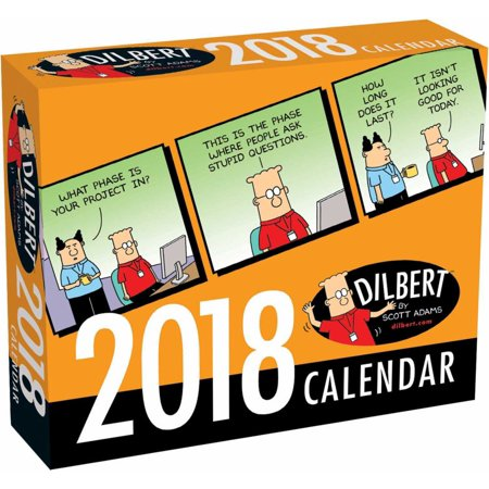 2018 DILBERT BOX CALENDAR