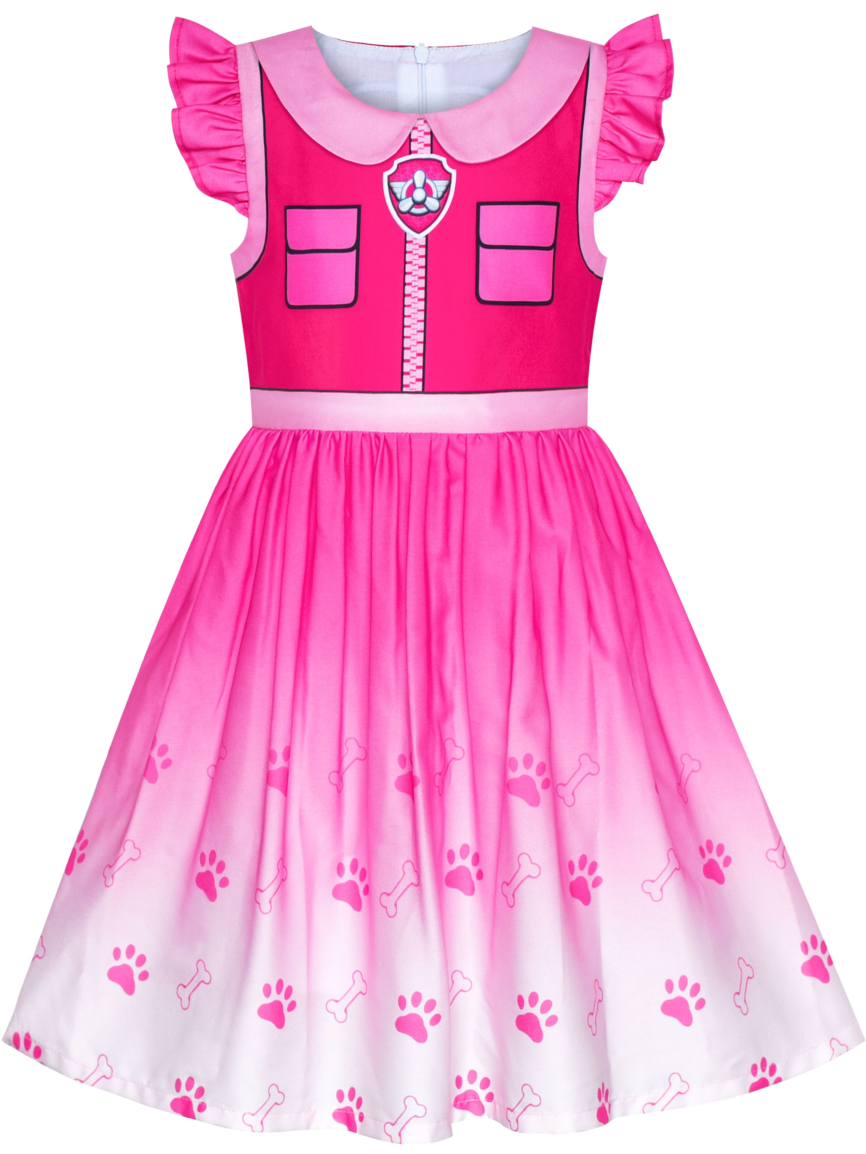 4-5 Years Paw Patrol Skye GirlS Night Dress
