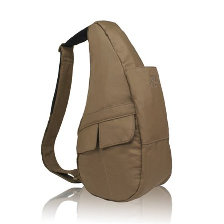 Quot Ameribag Extra Small Microfiber Healthy Back Bag Taupe