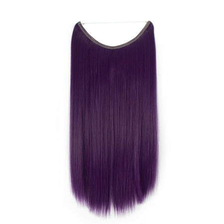 Purple Hair Extensions (FLORATA Purple 20