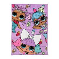 L.O.L. Surprise! Kids Weighted Blanket, 3.5lb, 30 x 42, Pretty in Pastel