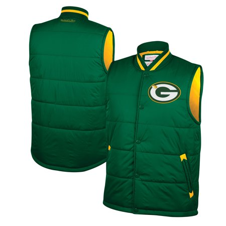 Green Bay Packers Mitchell & Ness Amazing Catch Vest - Green