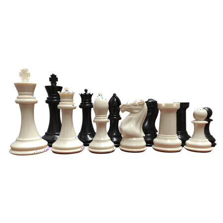 Warlord Staunton Designed Chess Pieces for School, Clubs and Tournaments