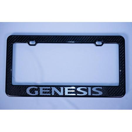 Hyundai Genesis Carbon Fiber License Plate Frame, By PRC