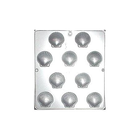 166 Sea Shells Chocolate Candy Mold (Tortilla Shell Molds)