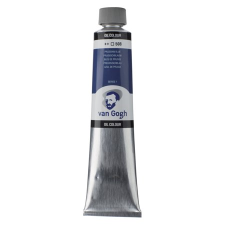 Van Gogh Oil Color, 200ml Tube, Prussian Blue