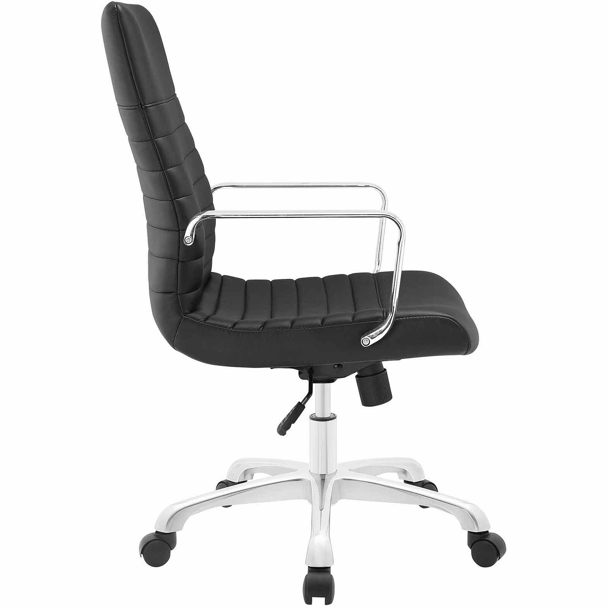 Modway Finesse Mid Back Leatherette fice Chair Multiple Colors