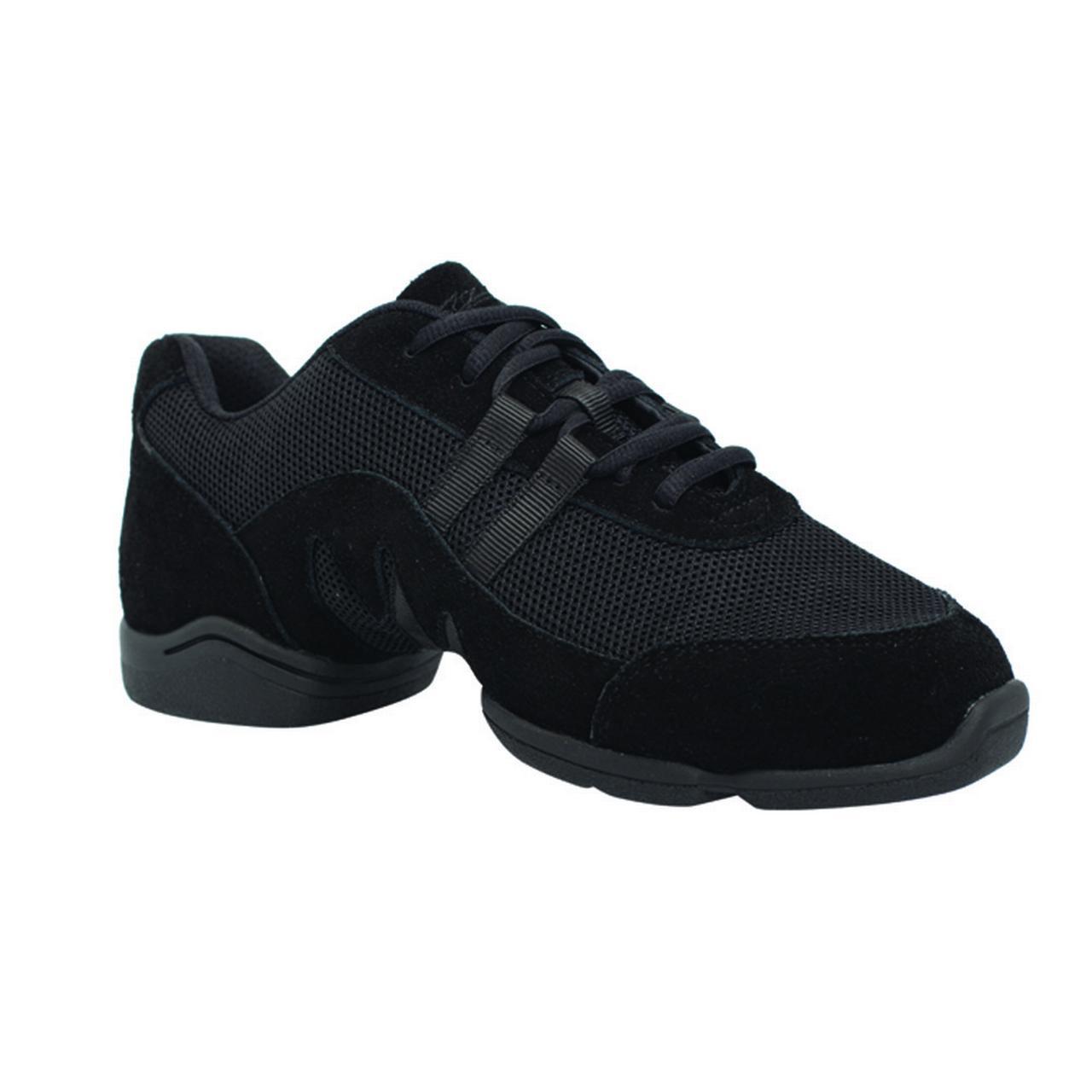 Sansha Adult Black Split Sole Mercury Low Top Sneakers Medium Womens