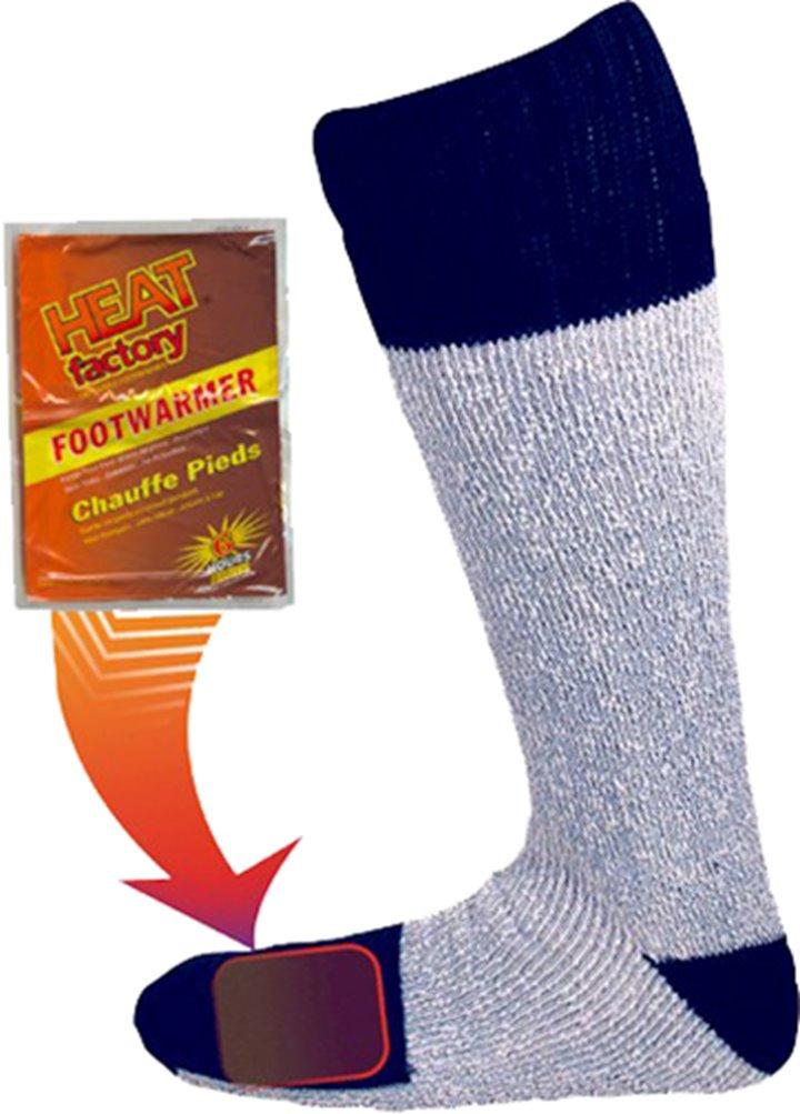 Usa Heat Factory Heavyweight Merino Wool Socks Large Xl 10-13 by HEAT FACTORY USA INC