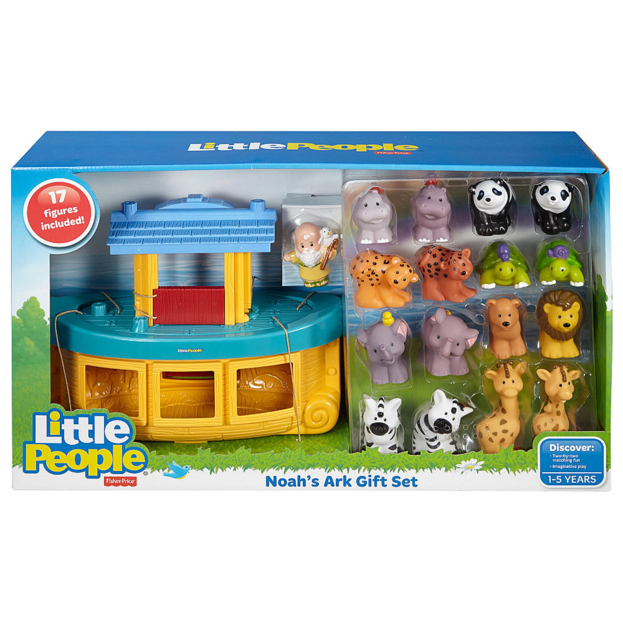 Fisher-Price Little People Noah's Ark with Bonus Animals