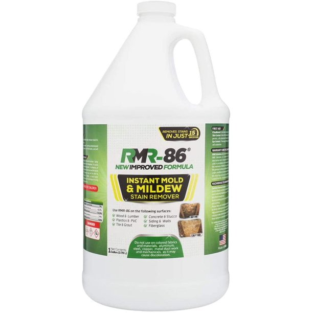 RMR-86 Instant Mold and Mildew Stain Remover Spray - Scrub ...