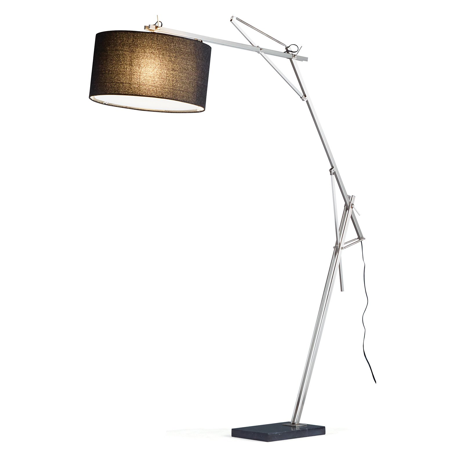 Adesso Suffolk Arc Floor Lamp