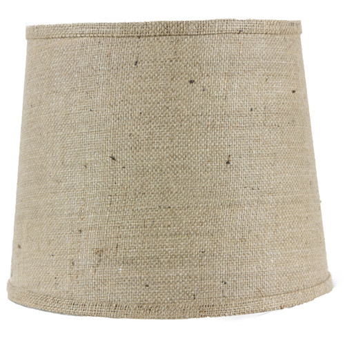 "Image of AHS Lighting 8"" Linen Drum Lamp Shade"