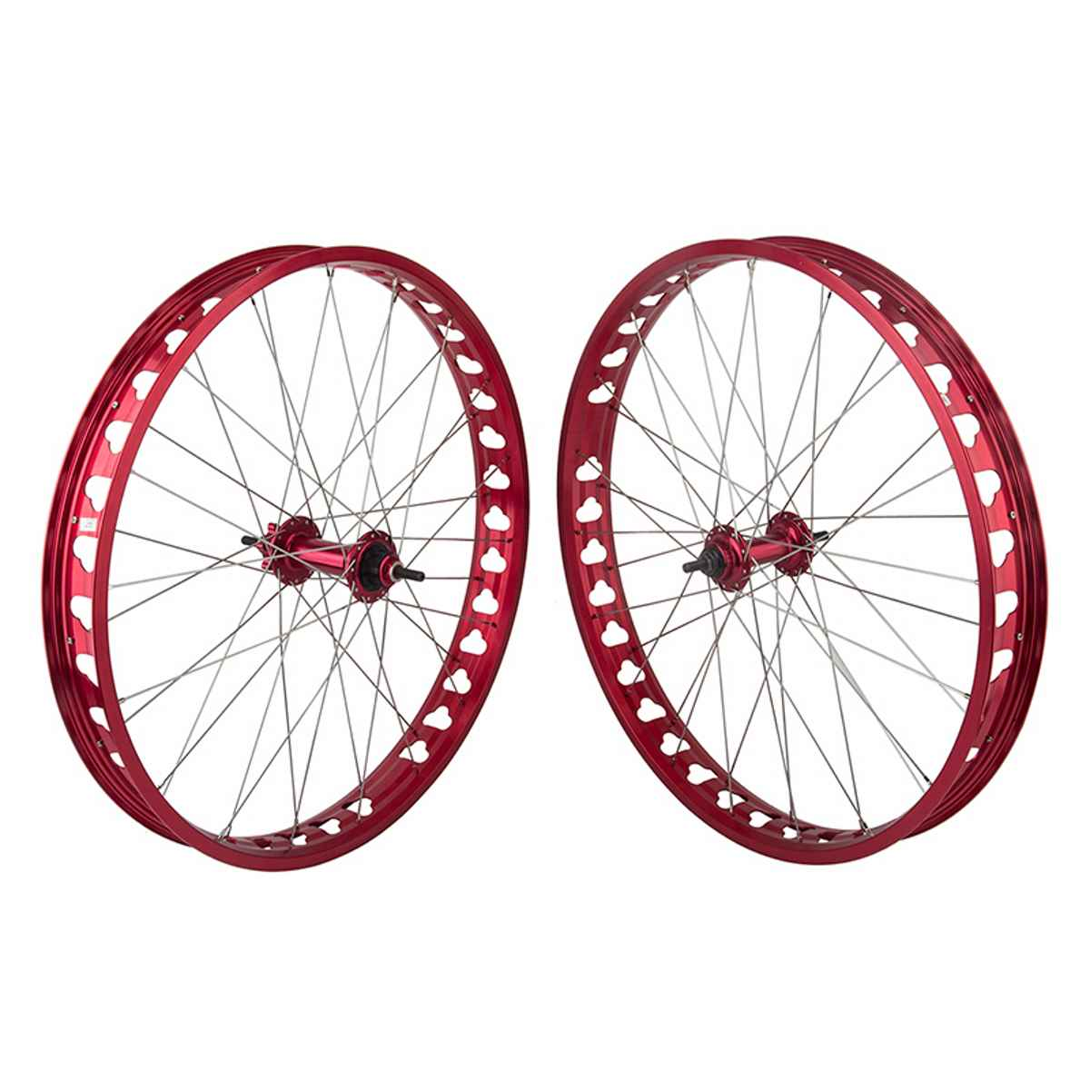 SE Bikes SE Bikes 26 Inch Fat Wheel Set - 640486