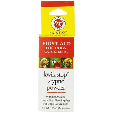 Kwik Stop Styptic Powder 1/2 oz.