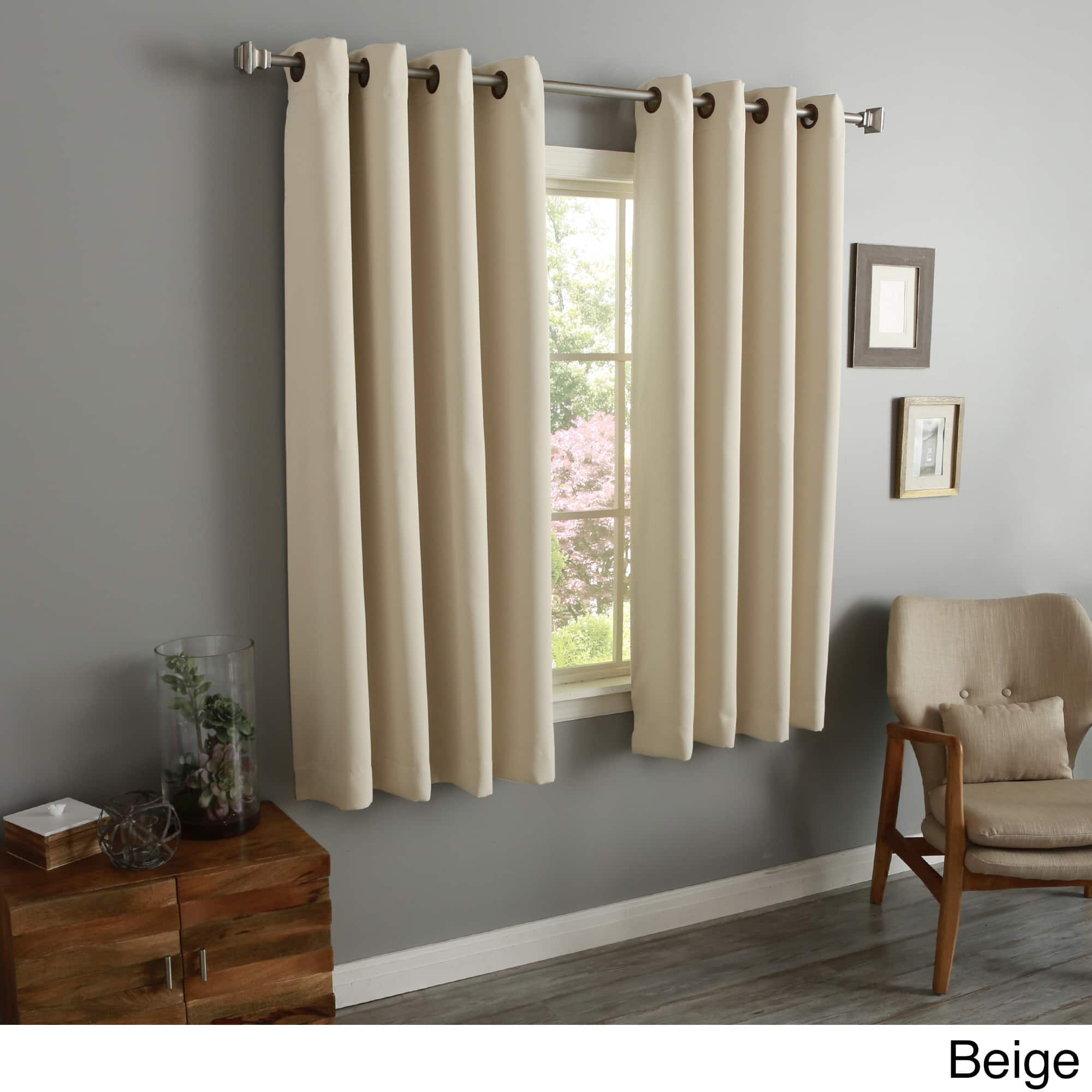 Best Home Fashion Thermal Grommet Blackout Curtain