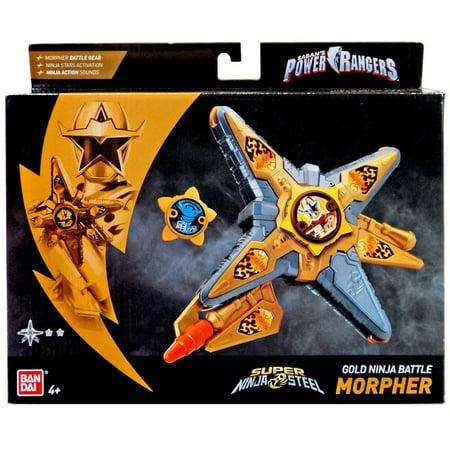 Power Rangers Super Ninja Steel Gold Ninja Battle Morpher](Power Rangers White Ranger)