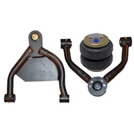 AirBagIt AIRARX-CA7081-0A 1970-1981 Chevrolet Camaro Firebird Upper Control Arms Only Set