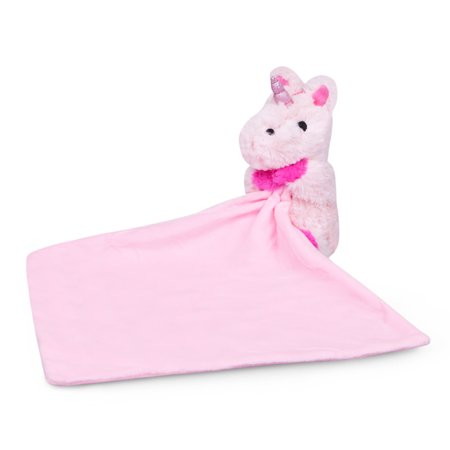Waddle Pink Unicorn Baby Blanket Newborn Gift Plush Toy Stuffed