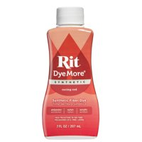 (2 Pack) Rit Dye More Racing Red Dye for Synthetics , 7 Fl. Oz.