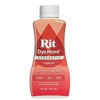 Rit Dye More Racing Red Dye for Synthetics , 7 Fl. Oz.